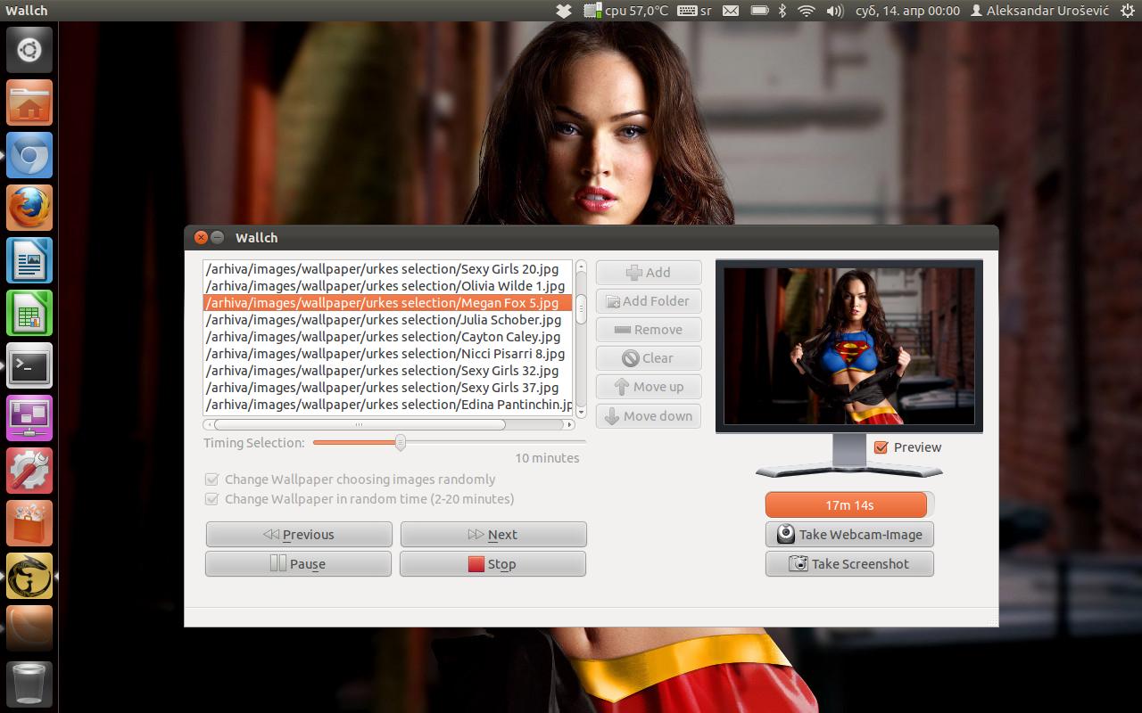 Wallch 2.1 na Ubuntu 11.10