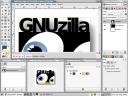 GIMP: GNUzilla logo