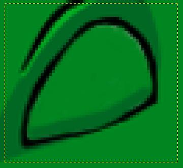 GIMP: затворено око GNUzilla маскоте
