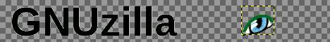 GIMP: изглед оптимизованих слојева