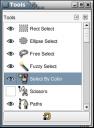 GIMP: Tools