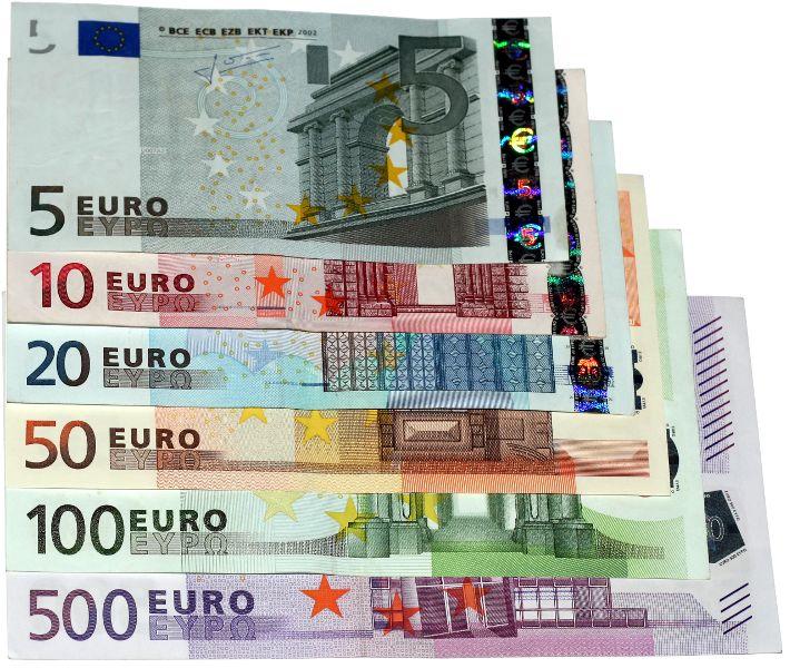 5-500 EURO