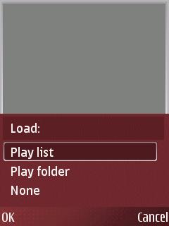 ALON MP3 Dictaphone, учитавање датотека