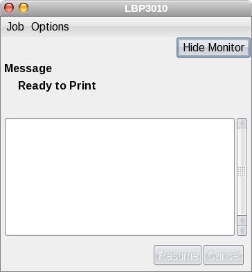 CAPT Status UI, Fedora 8