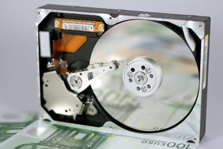 Мој стари хард диск са 100 €