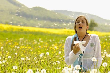 Алергија на полен ни мало није пријатна