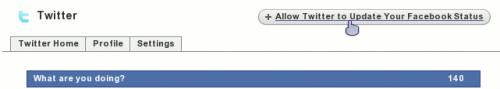 Давање дозволе апликацији да ажурира фејсбук статус