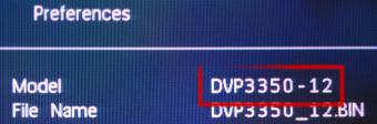 PHILIPS DVP3350/58 је заправо DVP3350/12