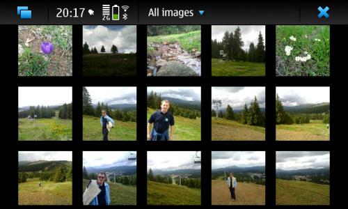 Nokia N900: галерија слика