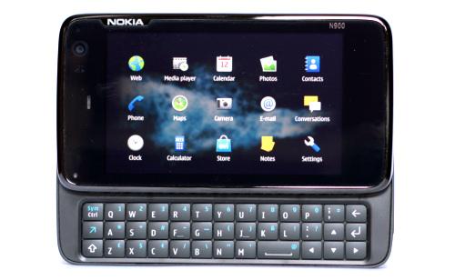 Nokia N900: главни мени са програмима