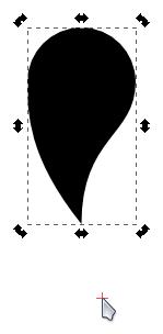 Измештање центра ротације објекта