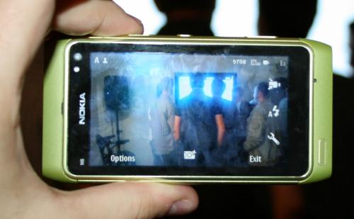 Nokia N8 у режиму камере