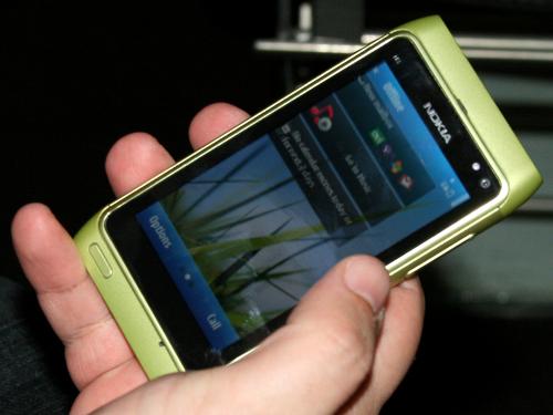 Nokia N8 у зеленом издању