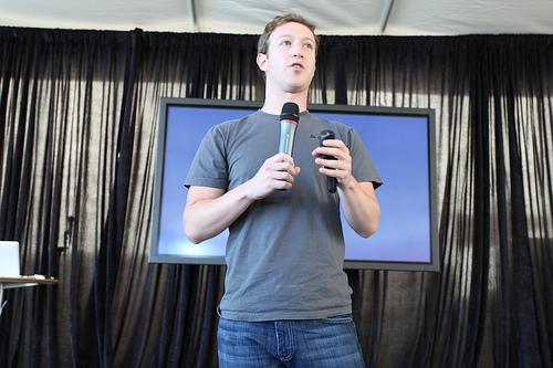 Марк Цукерберг (аутор фотографије Robert Scoble)