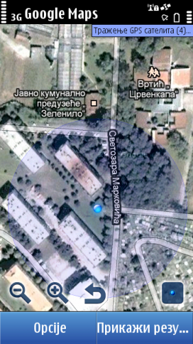 Nokia C7: Google Maps