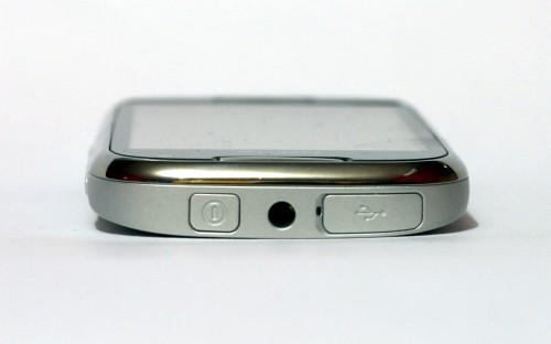 Nokia C7: горња страница