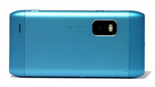 Nokia E7: полеђина телефона