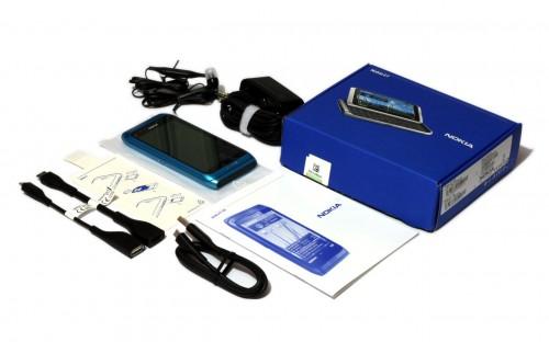 Nokia E7: садржај паковања за српско тржиште
