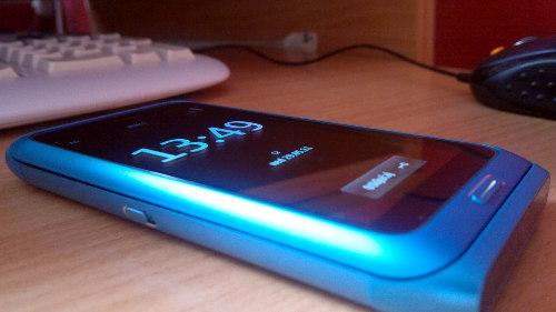 Nokia E7: угао видљивости
