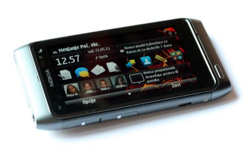 Nokia N8: положена радна површина