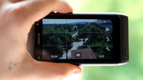 Nokia N8: режим за фотографисање