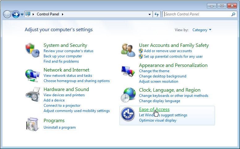 Kako da se miš na Windows 7 ponaša kao pod Linuksom?