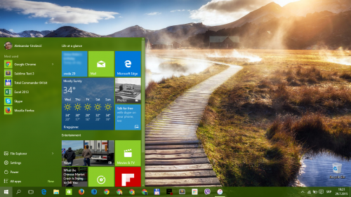 Windows 10: Desktop